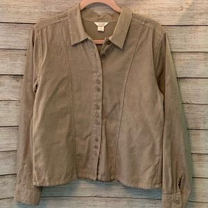 Unique lightweight shirt style jacket